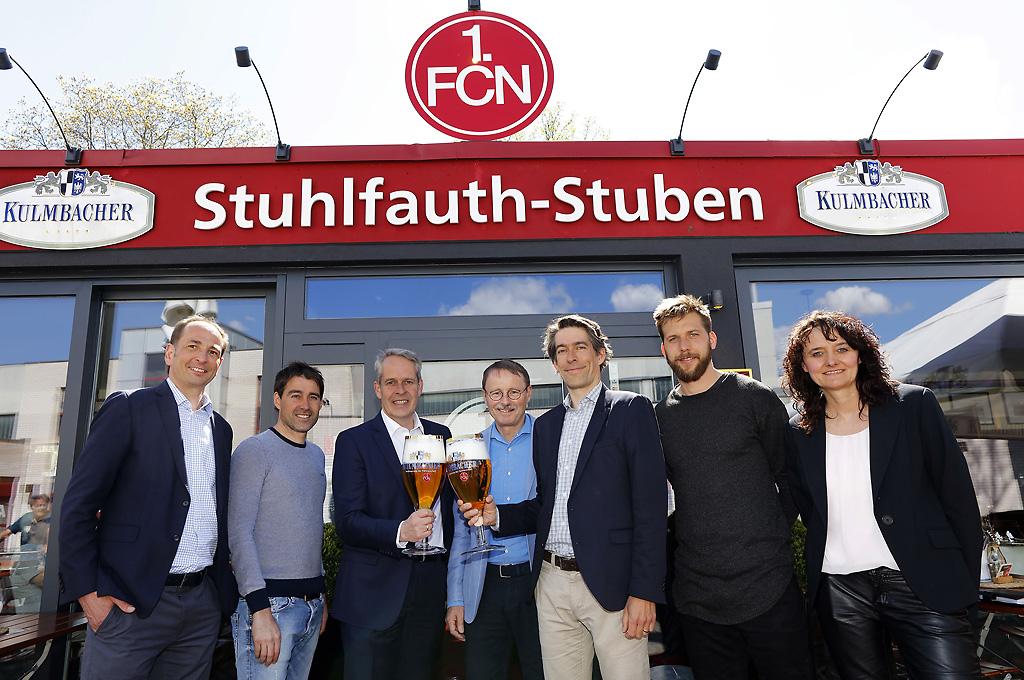 Partnerschaft zwischen dem 1. FCN und KULMBACHER geht in die Verlängerung