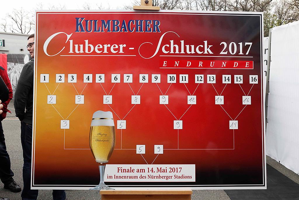 KULMBACHER Cluberer-Schluck Zwischenrunde 2016/2017
